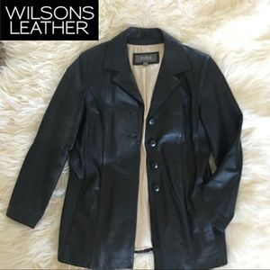 100% Genuine Leather Coat - Medium